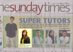 Miss Loi is The Sunday Times' Super Tutor!