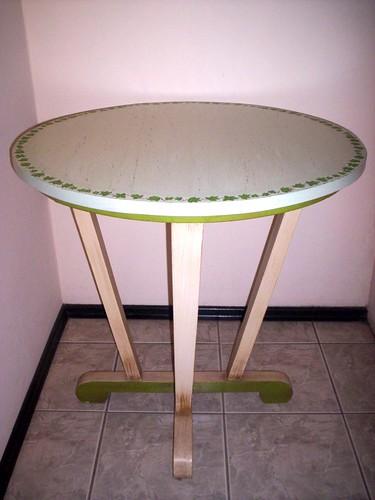 mesa de jardim jumbo : mesa de jardim jumbo:banqueta provençal forrada para o espaço de criação m de maria