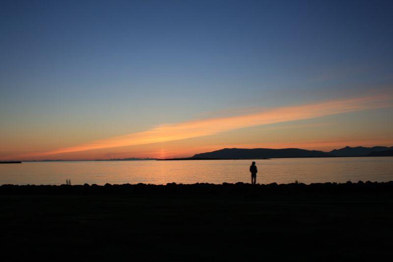 Sunset on Midsummer Night