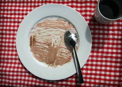 I scream, you scream.. (balsamia) Tags: art ice coffee is drawing cream spoon icecream edvard expressionism munch tress angst thescream 2h skriket over400000views