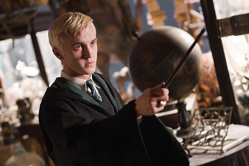 Harry Potter y el misterio del príncipe, Draco Malfoy