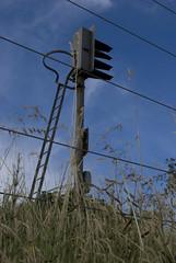Railway signal (Will Slater) Tags: humberbridge humber