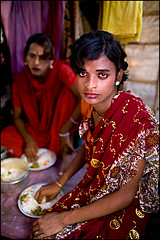 Shama having lunch - Bangladesh (Maciej Dakowicz) Tags: gay food home lunch asia interior transgender transvestite homosexual bangladesh gender transsexual hijra