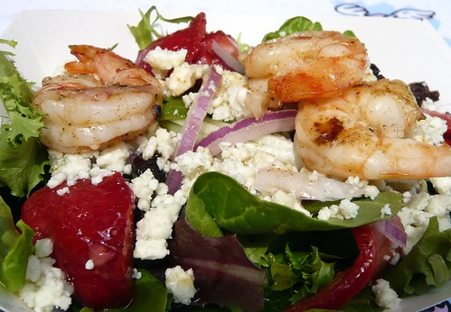 Strawberry & Shrimp Salad -- Detail