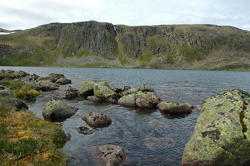 Carn Etchachan above Loch Etchachan