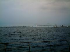 【写真】VQ3007で撮影した臨港パークから見るベイブリッジ