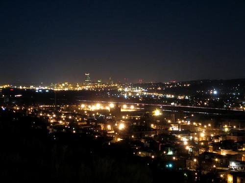 Albany, NY skyline seen from Troy