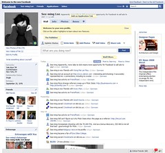 Facebook: New Design / 2008-07-21 / SML Screenshots (by See-ming Lee 李思明 SML)