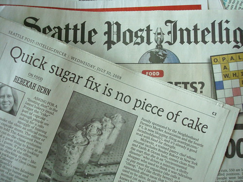 Cakespy Mentioned in the Seattle Post Intelligencer!