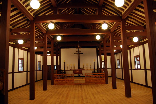 Interior, Jincheon Eumnaeri Anglican Church