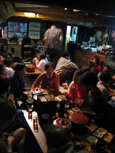 Dinner time at Subarishi 7th station