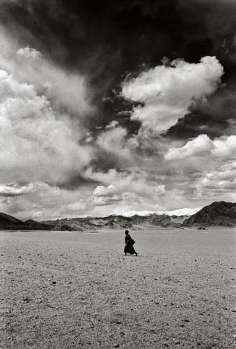 Buddhist boy in Ranbirpura, about 20 km from Leh da Mountain Photo Festival.