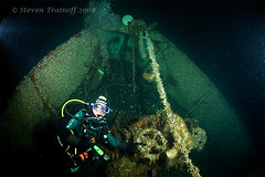 Wreck of the Transpac (- drsteve -) Tags: sea canada cold water v