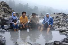 Kawah Domas (Domas Crater) in Tangkuban Perahu, Bandung , Indonesia.
