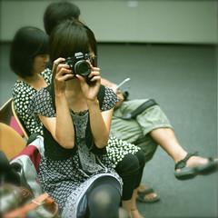 なにわ班 #2 (otarako☺︎) Tags: minato ponkan cocoaloco sheisaphotographer 080814matsumoto 切り絵個展「緋色」