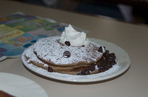 Chocolatr Chip Pankcakes