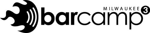 BarCampMilwaukee3 Logo Design B&W
