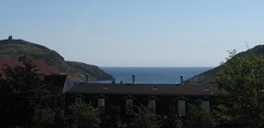 Out to sea on a beautiful day (hpatey) Tags: ocean summer canada newfoundland stjohns 2008 signalhill cabottower thenarrows hpatey southsidehills