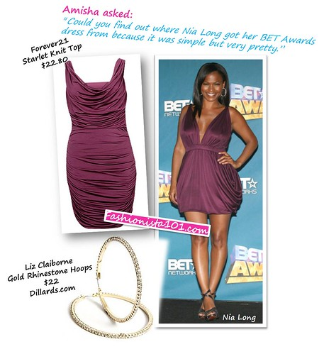nia long at the bet awards by you.
