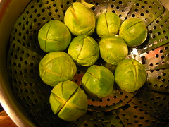 Brussels sprouts - or alien eggs?
