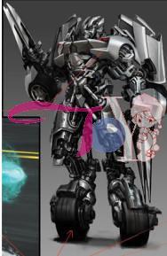 Sideswipe robot Transformers 2