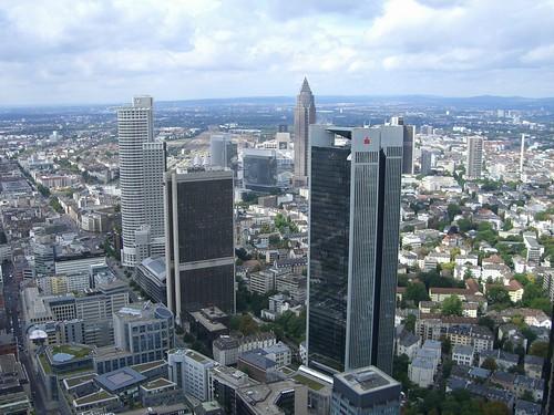 Rascacielos desde el Maintower