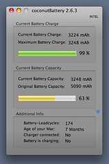 MacBook Air Battery After Calibration