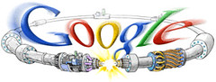 Google Doodles & Large Hadron Collider (LHC)