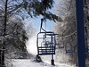 A chairlift at Hidden Valley, New Jersey
