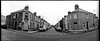 Rows of houses all bearing down on me #3 (giuli@) Tags: uk houses blackandwhite bw film wales analog geotagged iso400 horizon trix cardiff panoramic case 400tx kodaktrix horizon202 cathays galles trix400 kodaktrix400 blackandwhitefilm giuliarossaphoto bnarchitettura bncittà noawardsplease nolargebannersplease geo:lat=51495355 geo:lon=3180327