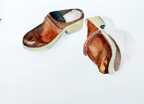 Clogs, by Catie