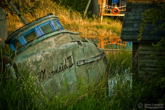 Mermaid III (janusz l) Tags: history finland geotagged fishing fisherman community village bc richmond fisher finn slough tidal janusz leszczynski infinestyle geo:lat=49113384 geo:lon=123116602
