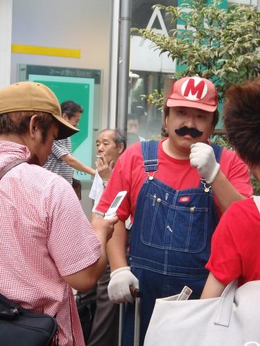 Super Mario en Shibuya
