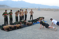 Military Physical Training Workout
