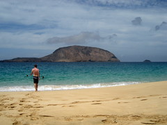 La Graciosa: Playa Las Conchas