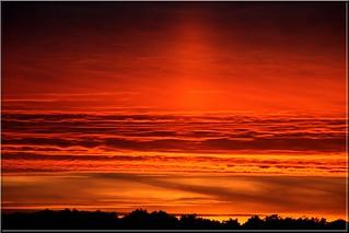 Coucher de soleil du 21/09/2008