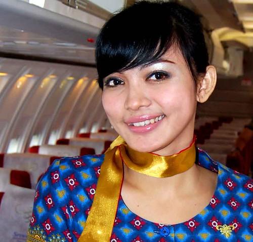 Foto-foto Nakal Cantik Pramugari Batavia Air Narsis