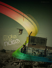 Make Some Noise .- 2008 (RolanGonzalez) Tags: photoshop silla campo tutorial fotomontaje chatarra javiergpacheco rolangonzalez