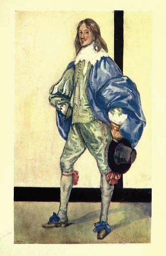 18- Vestimenta hombre epoca Carlos I ( 1625-1649)