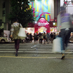 GO! (F_blue) Tags: tokyo kodak hasselblad harajuku 500cm  portra160nc planart c8028 fblue2008