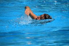 Nel blu...dipinto di blu.... (diamante67 - Gennaro) Tags: canon blu piscina nuoto vacanze eos400d diamante67