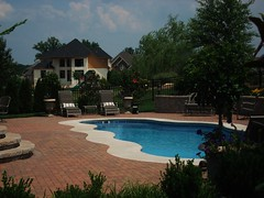Caribbean 23a ~ Viking Pools ~ Free Form ~ Clearwater Fiberglass Pools ~ Louisville, KY (Viking Pools) Tags: water pool swimming swim pools fiberglass viking freeform louisvilleky ingroundpool vikingpools fiberglassswimmingpools clearwaterfiberglasspools