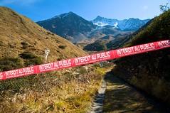 Taking risks (celestialpilgrim) Tags: alps switzerland anton valais havingfun upthere jeanchristophe valdentremont boveire pointedetoules