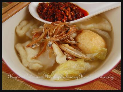 Mee Hoon Kueh / Pan Mee
