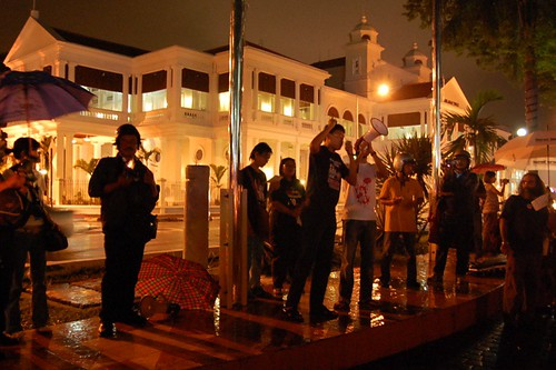 penang high court - candle light vigil