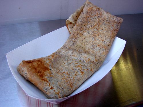 Ham and Cheee Crepe