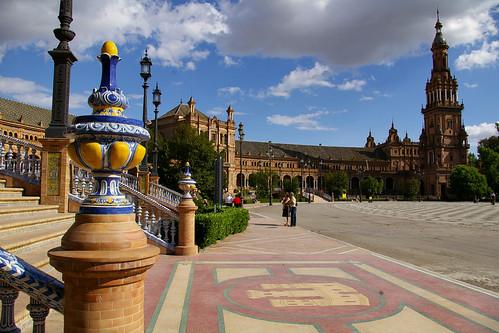 05.2007 Sevilla, Plaza de España