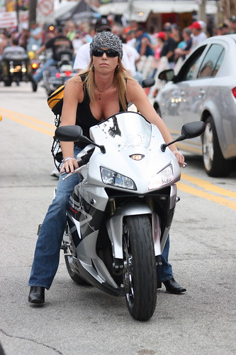 Shiny Pantyhose Biketoberfest 19