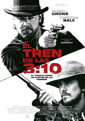 El tren de las 3:10 Yuma James Mangold Russell Crowe Christian Bale