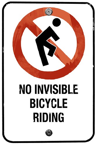 No Invisible Bicycles